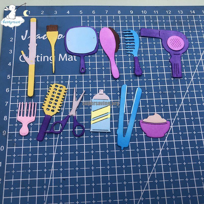 Bunnymoon Toiletries New Design Craft Metal Cutting Dies Scrapbooking Album DIY Paper Card Craft Embossing Die
