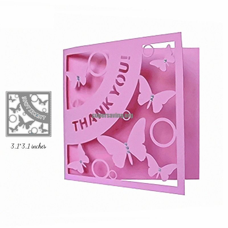 Mini THANK YOU Letter Metal Cutting Die cuts for Cards Making Scrapbooking Craft Dies Cut for DIY Paper New 2019