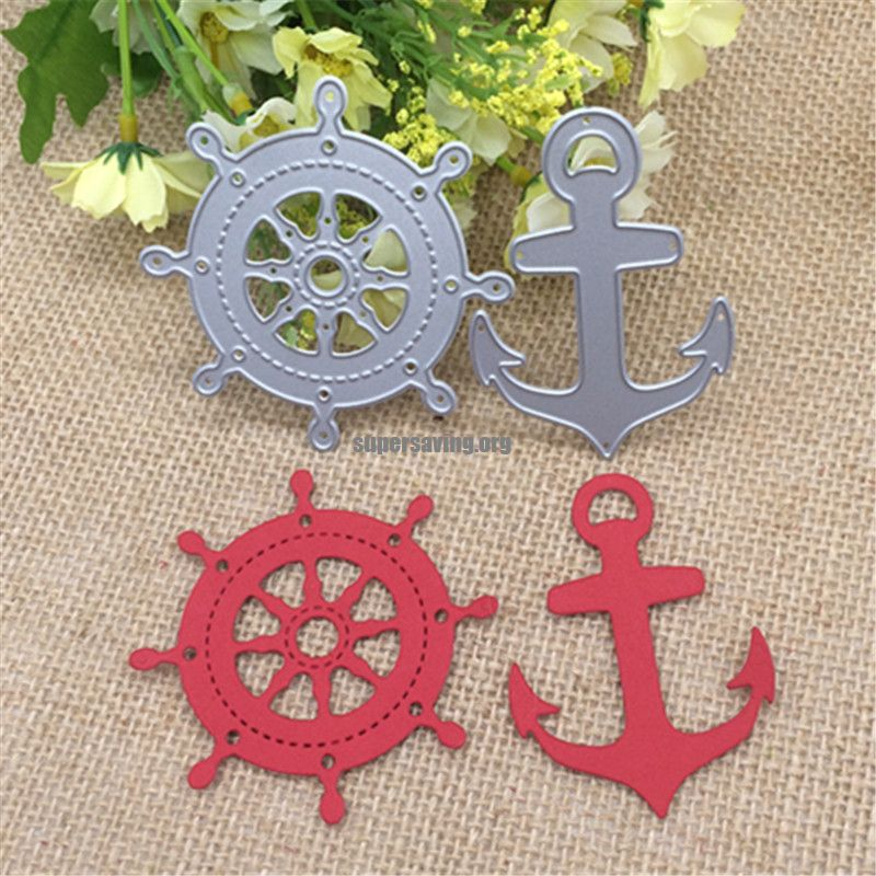 Sailing Anchor ship Metal Cutting Dies Stencil Scrapbooking Photo Album Card Paper Embossing Craft DIY
