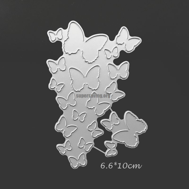 Fold Butterfly Metal Cutting Dies Scrapbooking Photo Album Decoration Crafts Dies Cut Embossing DIY Paper Cards Making Stencil