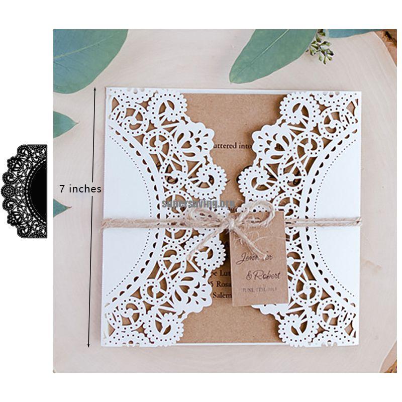 Fold Love Heart Dies Scrapbooking Metal Cutting Dies New 2018 Craft Die Cuts for Card Making Home Decorations DIY Emboss Stencil