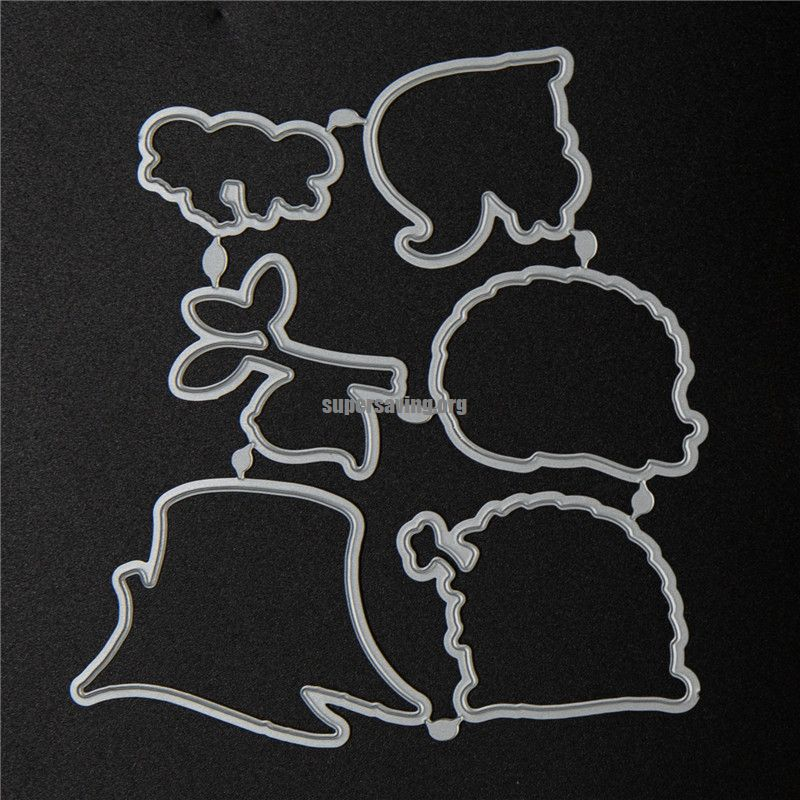 hedgehog and squirrel stamps and dies set 2020 clear stamp Scrapbooking & Stamping DIY album rubber metal cutting dies gift card