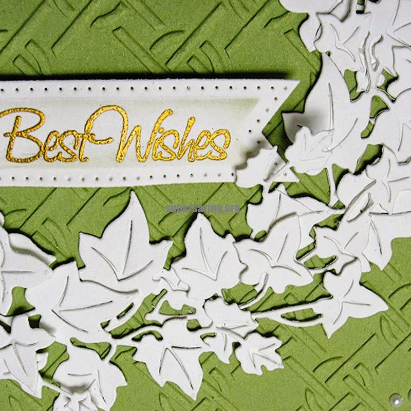 Leaf Dies Metal Cutting Dies Stencils for DIY Scrapbooking Paper Cards Making Embossing Craft Dies Cut