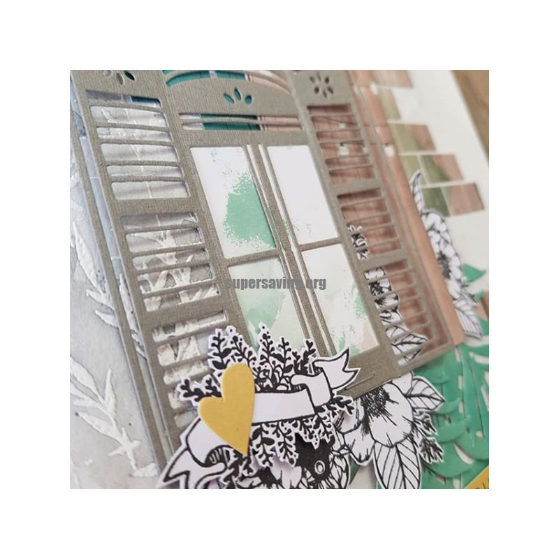 2019 New Arrival Window Metal Cutting Dies Stencils for Scrapbooking photo Album stamps Decorative Embossing DIY Cards