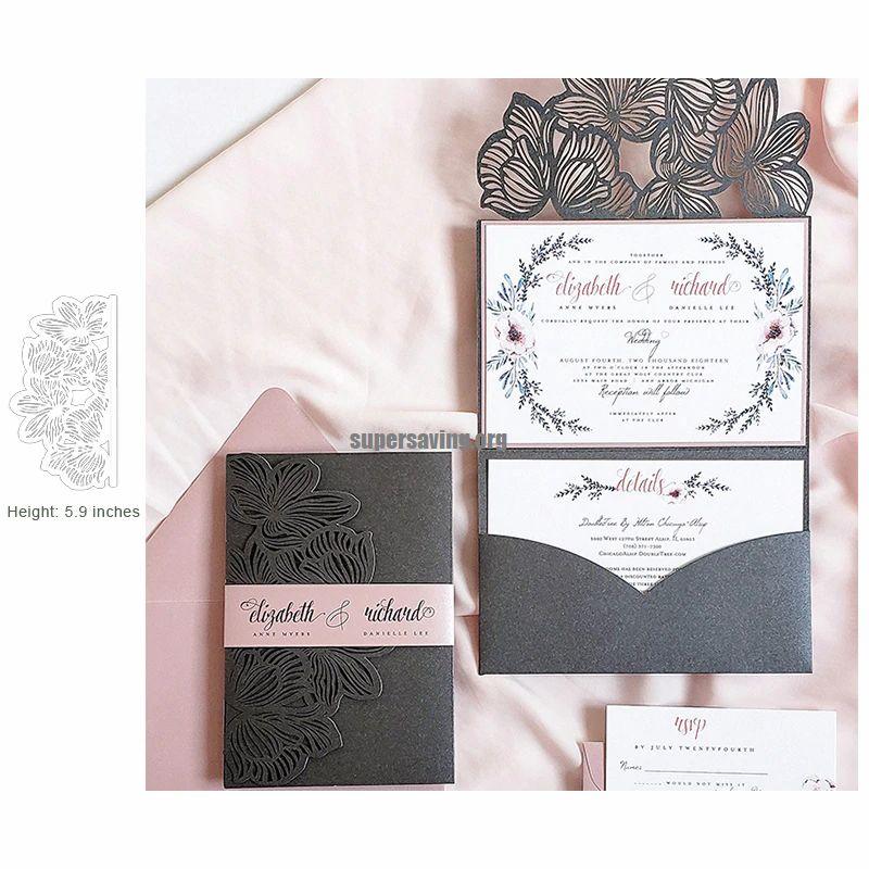 Lace Border Dies Metal Cutting Dies New 2019 for Wedding Invitation Scrapbooking Craft Die Cut Wedding Love Dies
