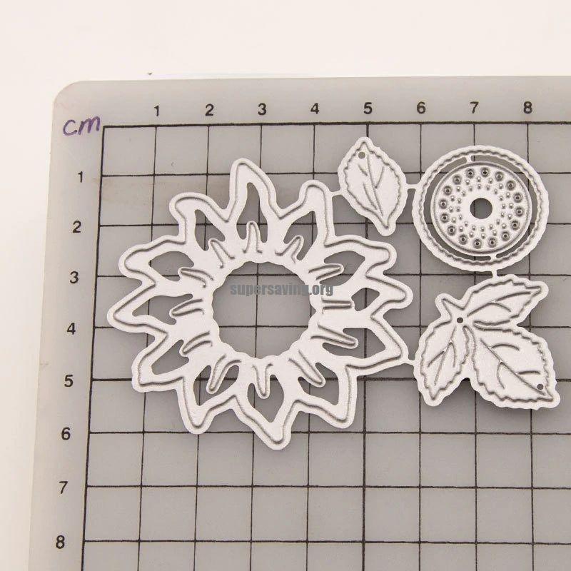 Sunflower Metal Cutting Dies New 2020 Flower Craft Dies Cut for Scrapbooking Stencil DIY Paper Cards Making