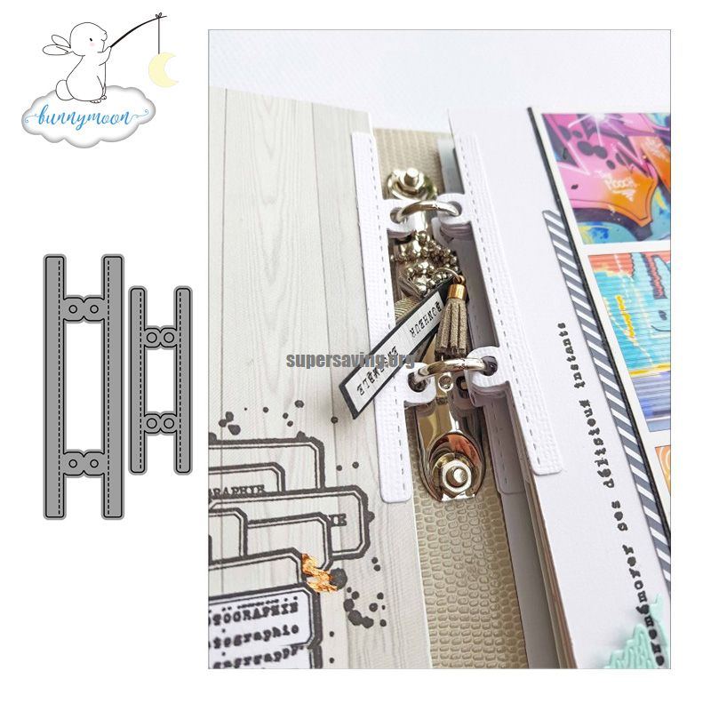 CH Lock side Metal Cutting Dies Stencils for DIY Scrapbooking photo Album stamps Decorative Embossing DIY Paper
